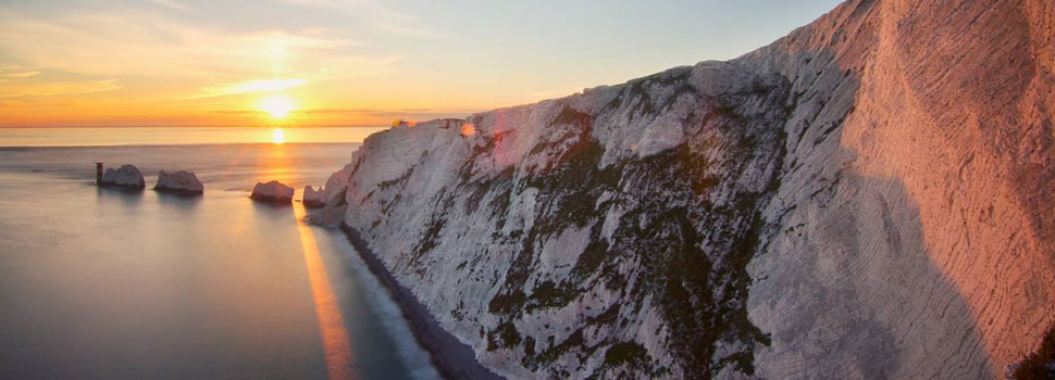 Sunset at the Needles