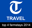 Telegraph Top 4 Farmstays 2013